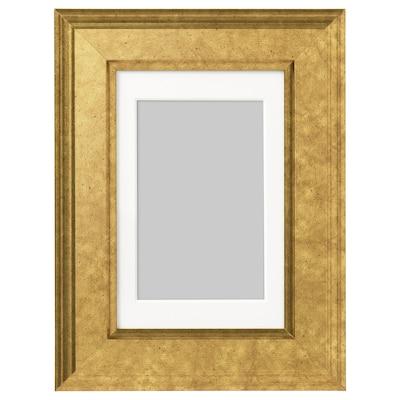 VIRSERUM Bingkai, warna emas, 10x15 cm