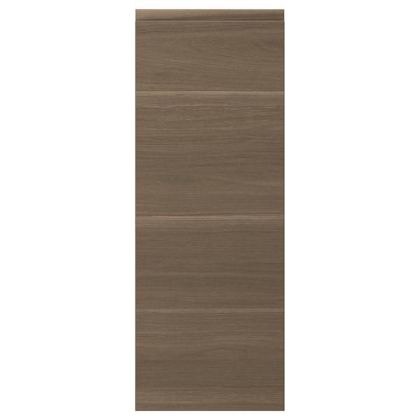 VOXTORP Pintu, kesan kayu walnut, 30x80 cm