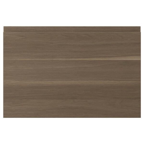 VOXTORP Pintu, kesan kayu walnut, 60x40 cm