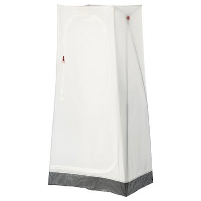 VUKU Almari pakaian, putih, 74x51x149 cm