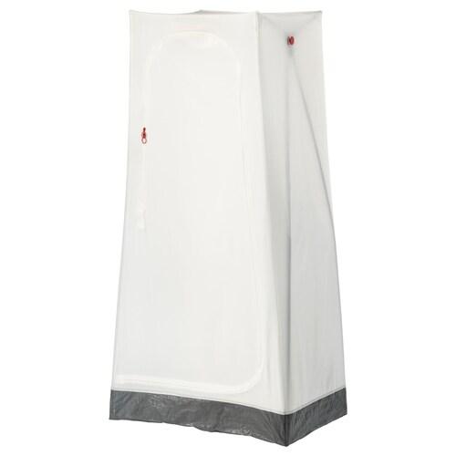 VUKU almari pakaian putih 74 cm 51 cm 149 cm