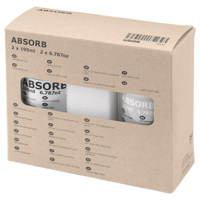 ABSORB leathercare set 390 ml