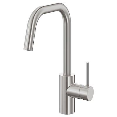 ÄLMAREN kitchen mixer tap w pull-out spout stainless steel colour 36 cm