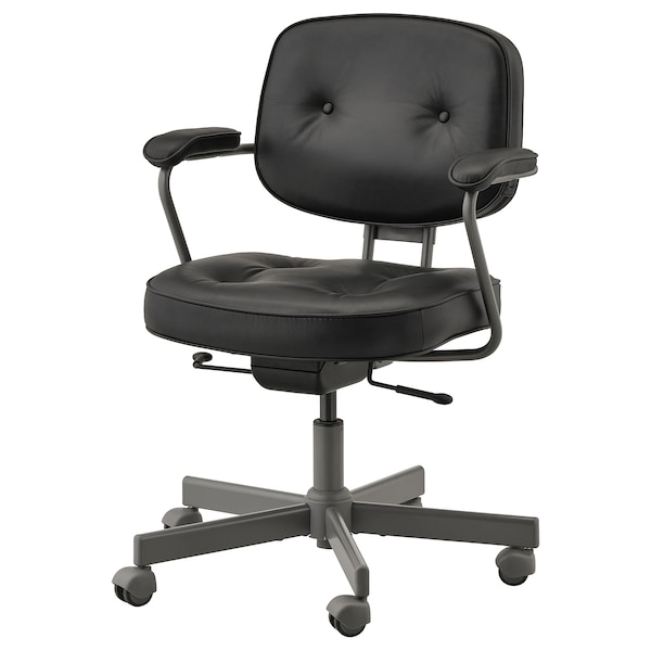 ALEFJÄLL office chair Glose black 110 kg 64 cm 64 cm 95 cm 51 cm 42 cm 45 cm 56 cm