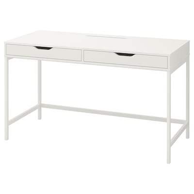 ALEX Desk, white, 131x60 cm