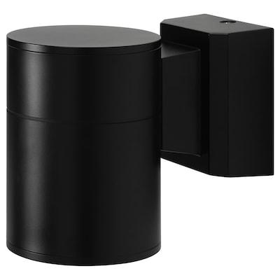 ALLARP Wall lamp, outdoor black, 13 cm