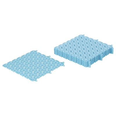 ALTAPPEN Floor decking, outdoor, light blue, 0.81 m²
