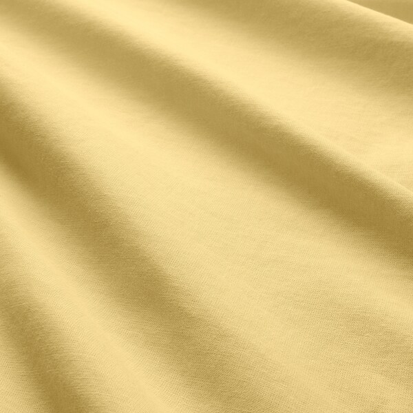 ÄNGSLILJA Quilt cover and 2 pillowcases, light yellow, 200x200/60x70 cm