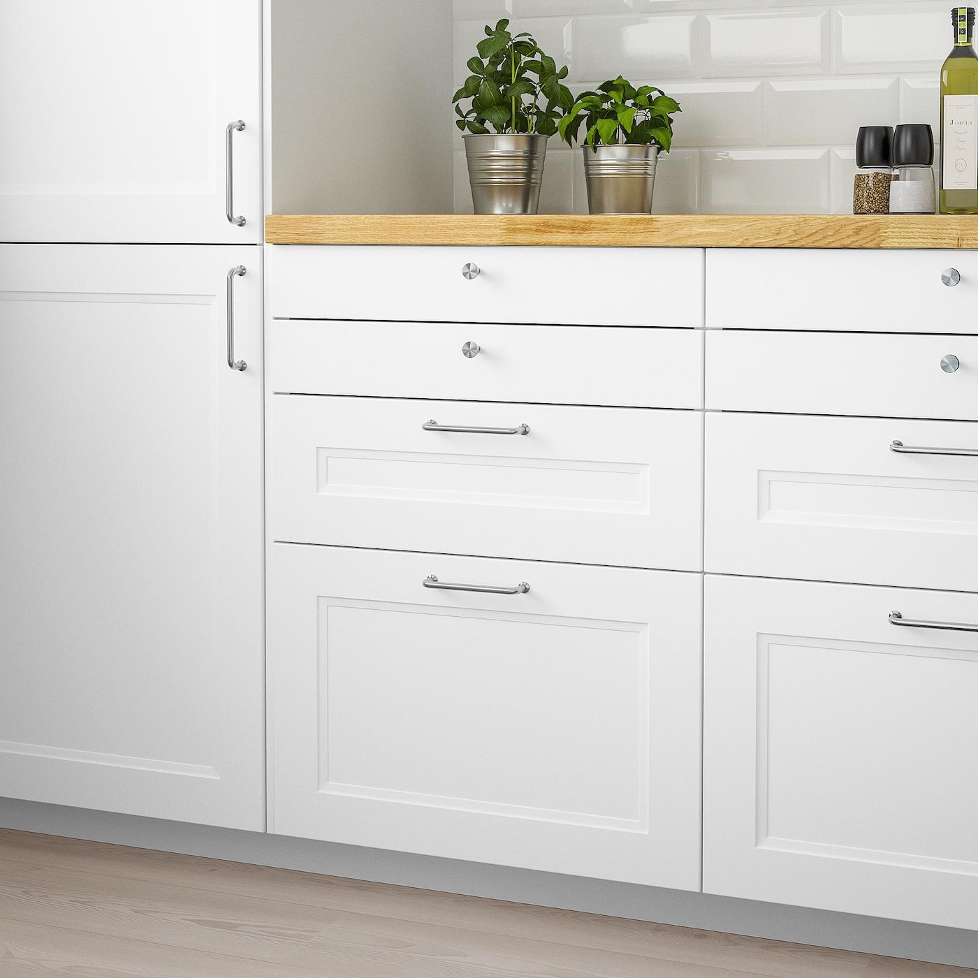 AXSTAD Drawer front - matt white 9x9 cm