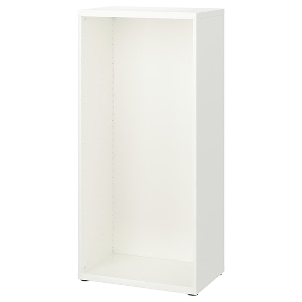 BESTÅ Frame, white, 60x40x128 cm