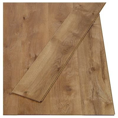 BETESMARK Laminated flooring, oak brown, 2.20 m²