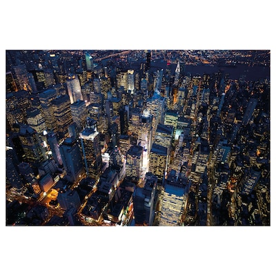 BILD Poster, City lights, New York, 91x61 cm