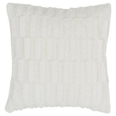 BLÅREGN Cushion cover, white, 50x50 cm