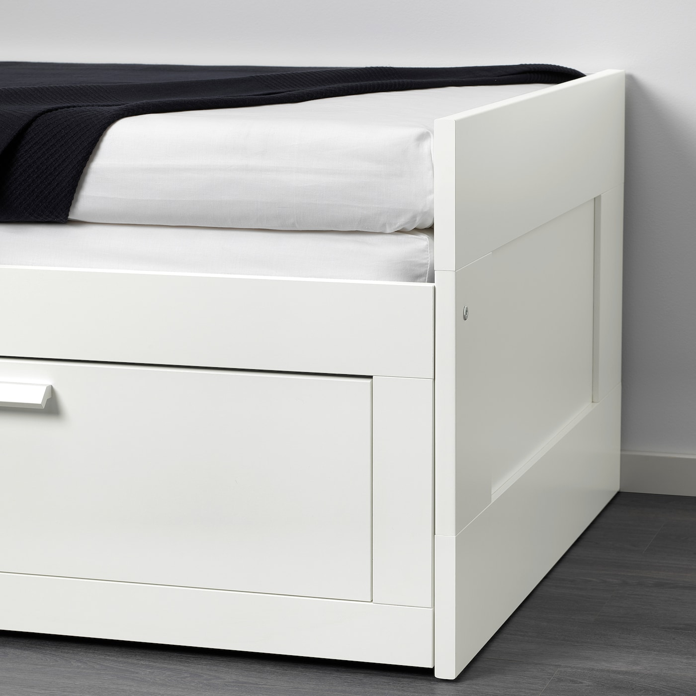 Slaapbank Hemnes Ikea.Brimnes Day Bed Frame With 2 Drawers White Ikea