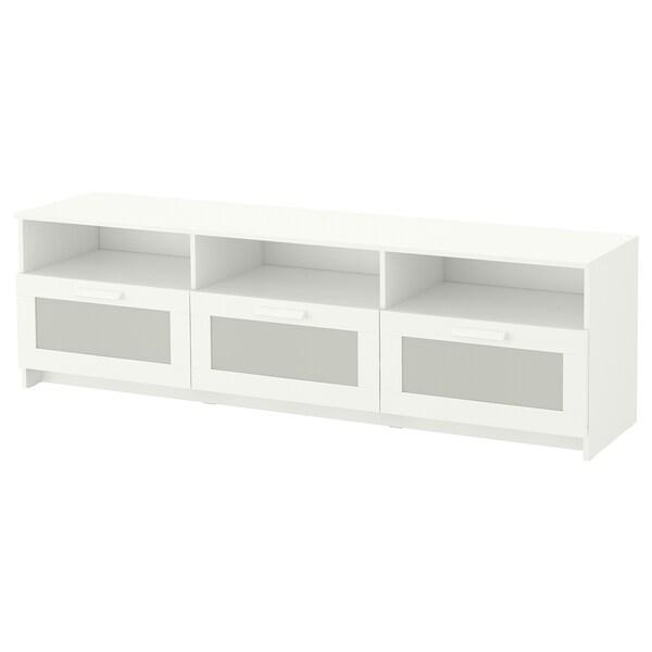 Ikea Tv Kast Meubel.Brimnes Tv Bench White Ikea