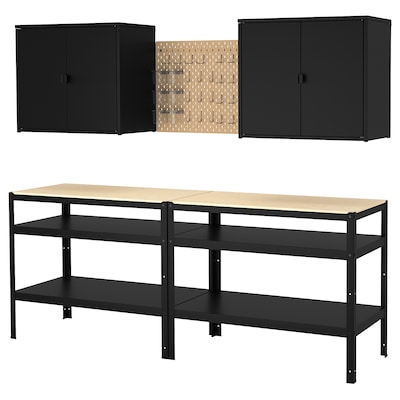 BROR Storage with cabinet/work bench