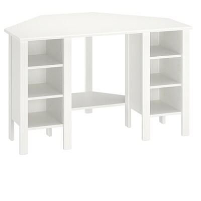 BRUSALI corner desk white 120 cm 73 cm 73 cm 73 cm
