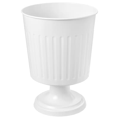 CITRONMELISS plant urn in/outdoor white 30 cm 22 cm 19 cm 21 cm