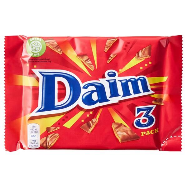 DAIM milk chocolate with caramel 84 g