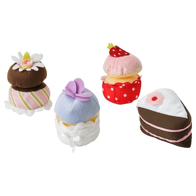 DUKTIG 4-piece cupcake set