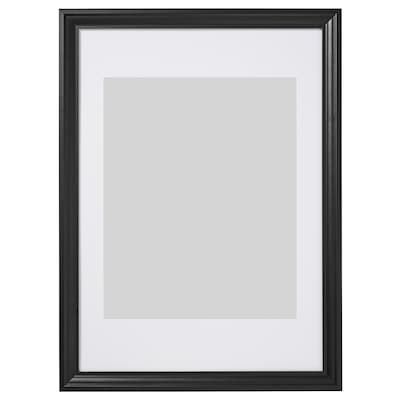 EDSBRUK Frame, black stained, 50x70 cm