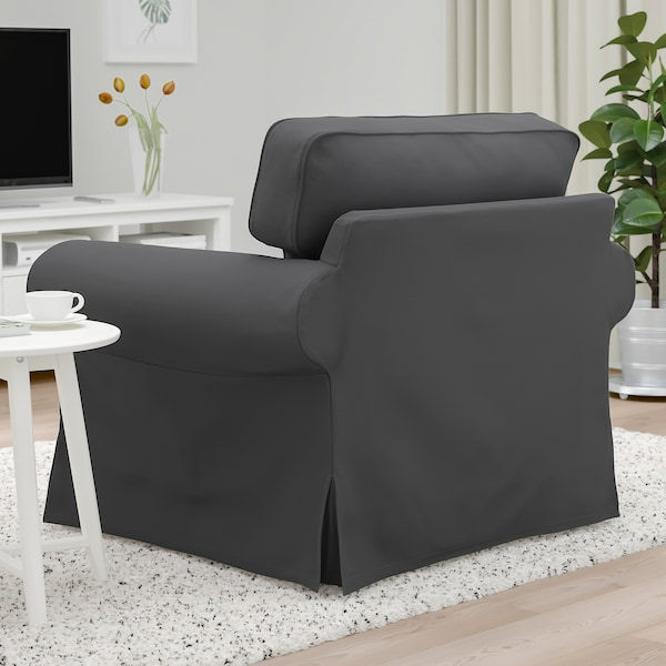 EKTORP Armchair, Hallarp grey