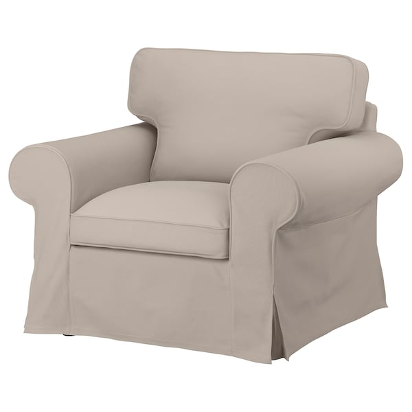 EKTORP Armchair, Totebo light beige