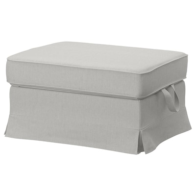 EKTORP footstool Orrsta light grey 82 cm 62 cm 44 cm
