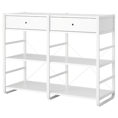 ELVARLI 2 sections white 164.8 cm 55.0 cm 126 cm