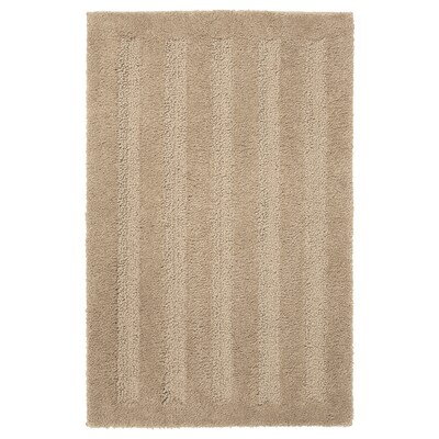 EMTEN bath mat beige 2000 g/m² 80 cm 50 cm 0.40 m²