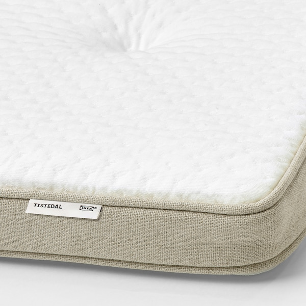 ESPEVÄR/VATNESTRÖM divan bed medium firm/Tistedal natural 200 cm 90 cm 62 cm 200 cm 90 cm