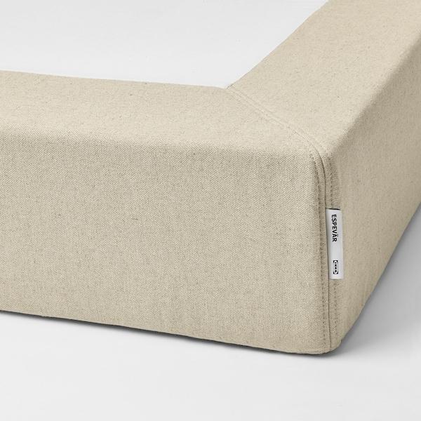 ESPEVÄR Sprung mattress base, natural, 90x200 cm