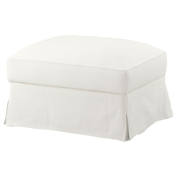 FÄRLÖV footstool with storage Flodafors white 64 cm 84 cm 51 cm 4 cm 95 l