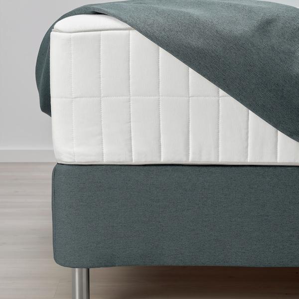 FINNSNES divan bed Hokkåsen firm/Tustna grey 210 cm 180 cm 120 cm 200 cm 180 cm