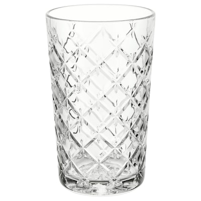 FLIMRA Glass, clear glass/patterned, 42 cl