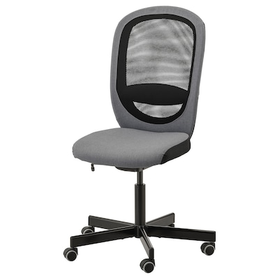 FLINTAN office chair Vissle grey 110 kg 74 cm 69 cm 102 cm 114 cm 47 cm 48 cm 47 cm 60 cm
