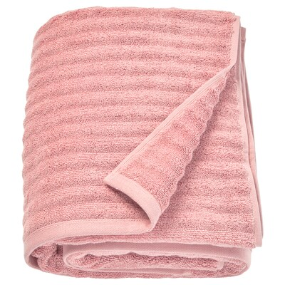 FLODALEN bath sheet light pink 700 g/m² 150 cm 100 cm 1.50 m²