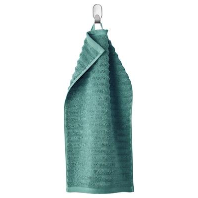 FLODALEN Guest towel, blue/green, 30x50 cm
