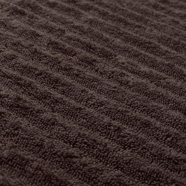 FLODALEN Guest towel, dark brown, 30x50 cm