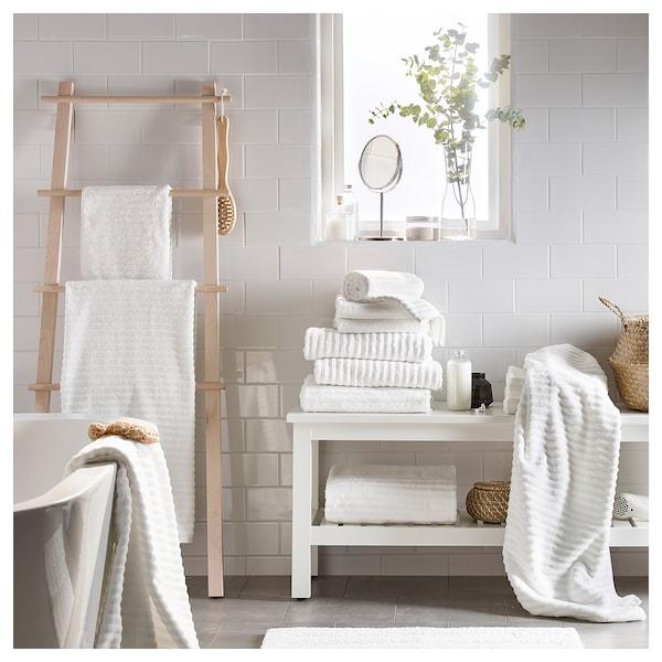 FLODALEN Guest towel, white, 30x50 cm