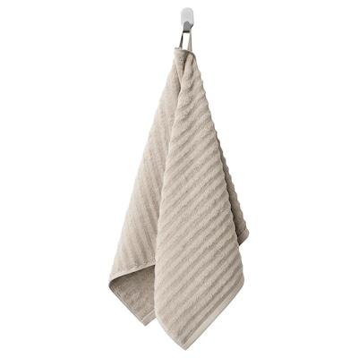 FLODALEN Hand towel, dark beige, 50x100 cm