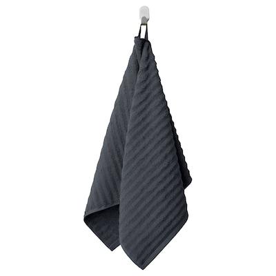 FLODALEN Hand towel, dark grey, 50x100 cm