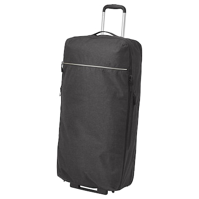 FÖRENKLA duffle bag on wheels 38 cm 27 cm 80 cm