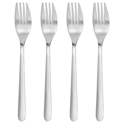 FÖRNUFT fork stainless steel 19 cm 4 pack