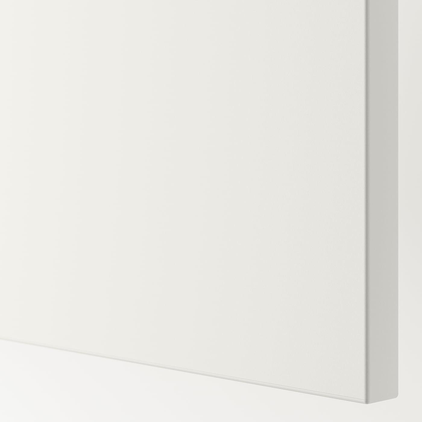 FONNES Drawer front, white, 60x20 cm