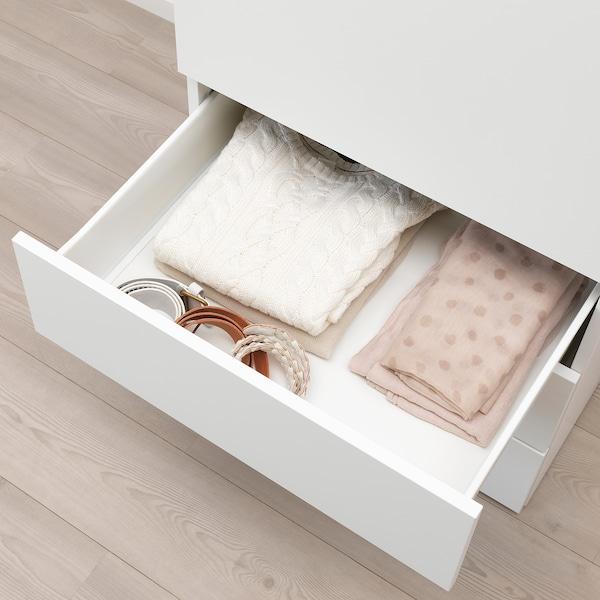 FONNES Drawer, white/white, 60x57x20 cm