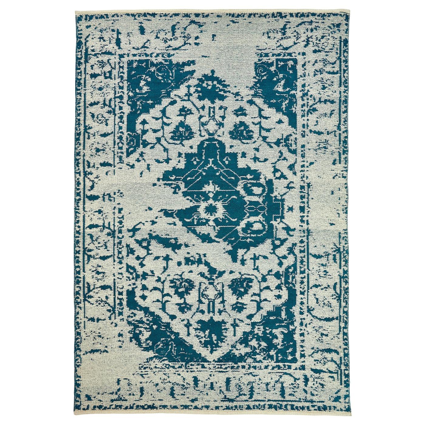 fovsing rug flatwoven blue beige ikea. Black Bedroom Furniture Sets. Home Design Ideas