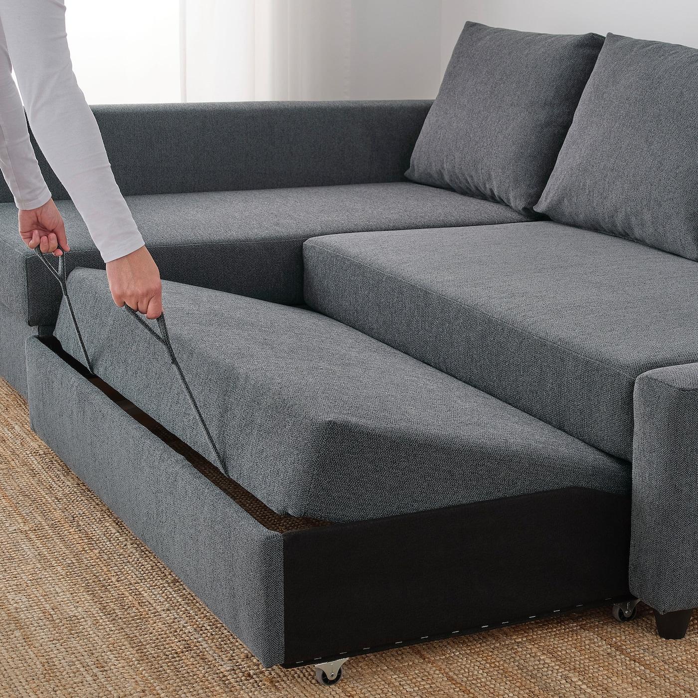 Friheten Hoekslaapbank Skiftebo Donkergrijs Ikea.Friheten Corner Sofa Bed With Storage Hyllie Dark Grey Ikea