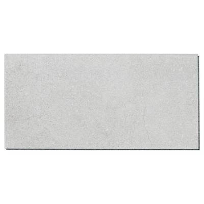 FRISKÄNG Floor tile, white stone, 2.37 m²