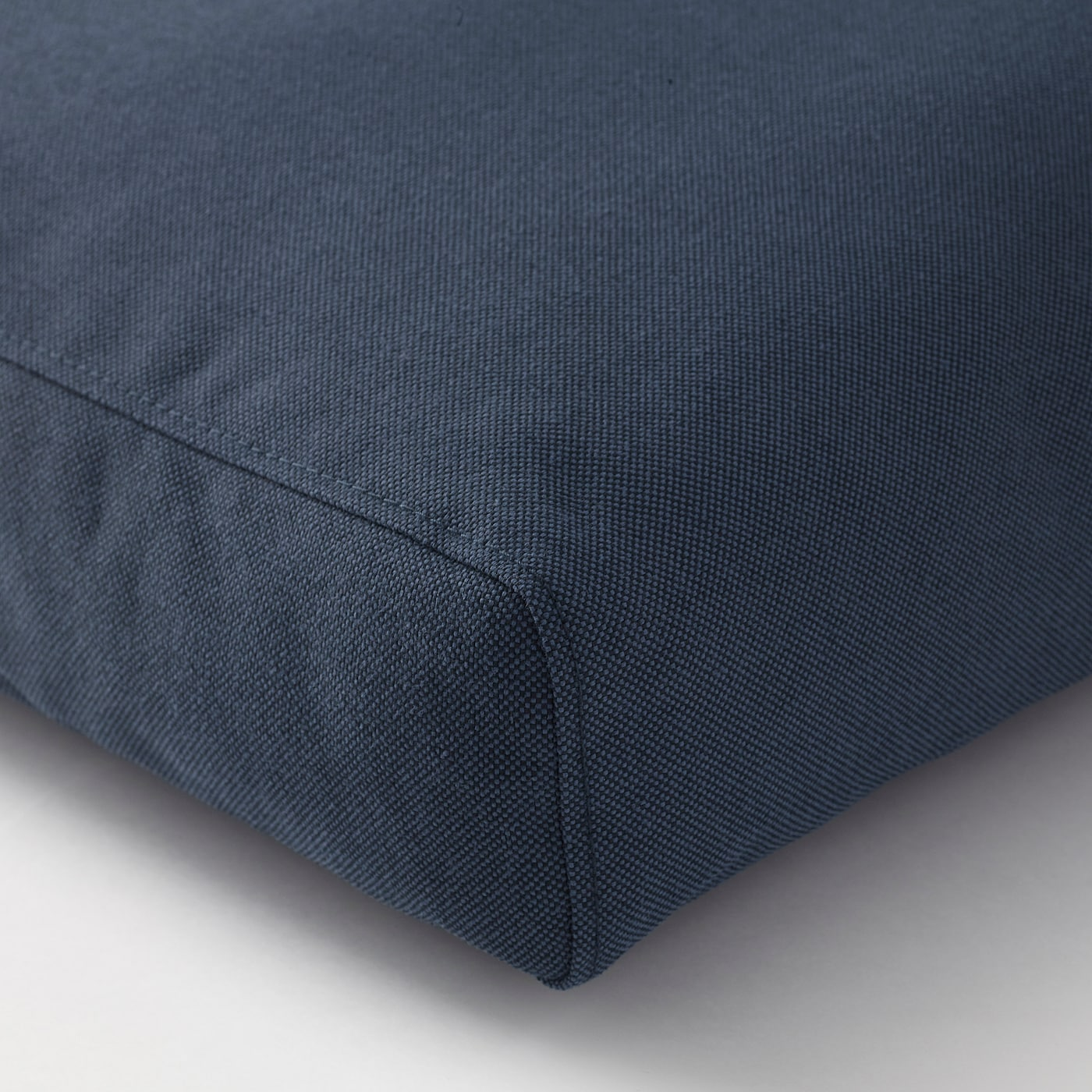 FRÖSÖN/DUVHOLMEN Back cushion, outdoor, blue, 62x44 cm